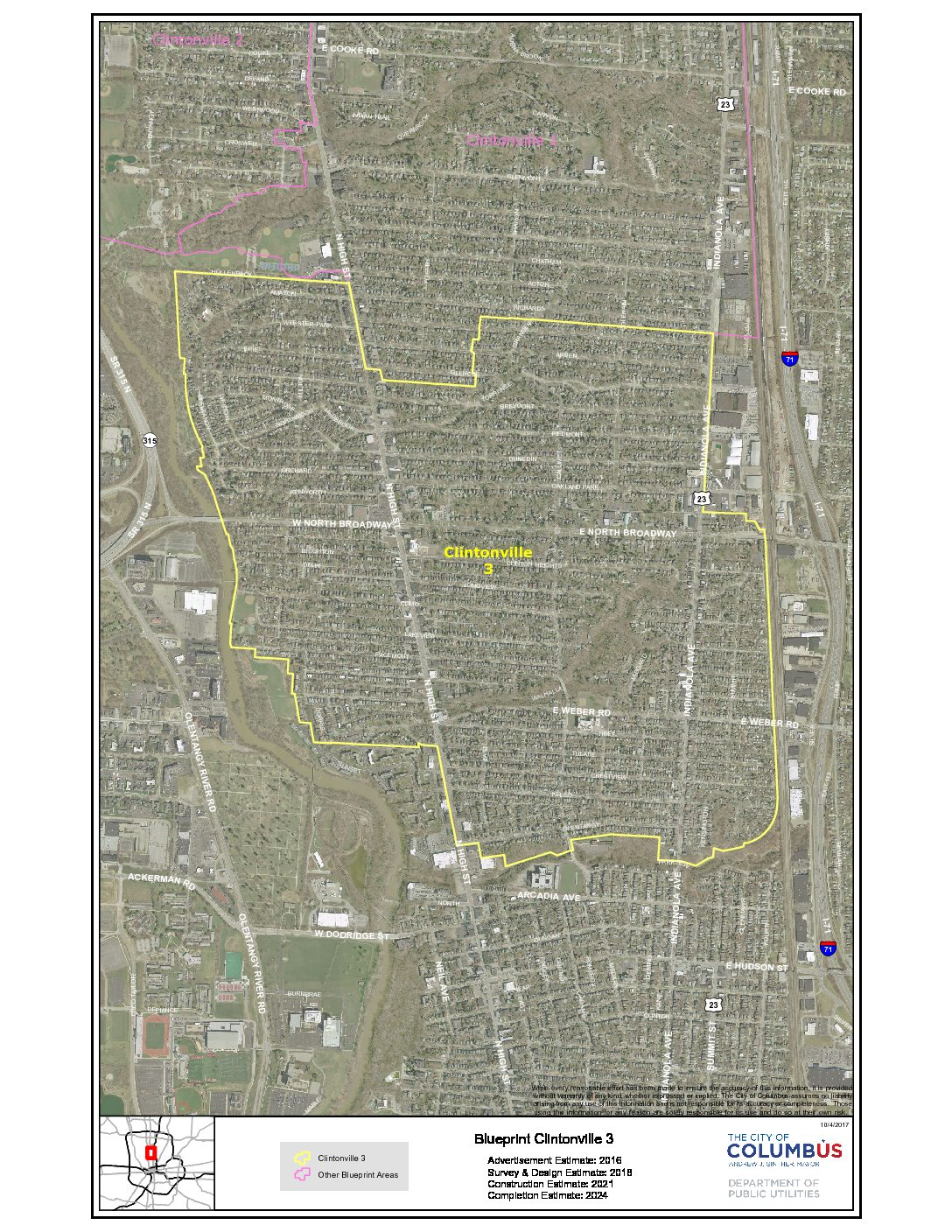 News clintonville area commission blueprint zone 3 design phase meeting postponed malvernweather Choice Image